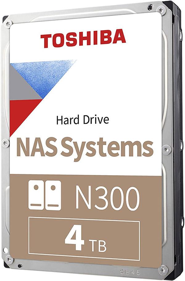 test du disque dur interne Toshiba N300 4 TB SATA3