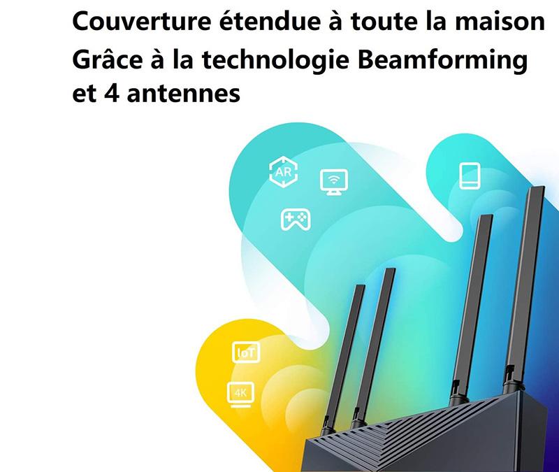 comparatif et test TP-Link Routeur WiFi 6 Archer AX10