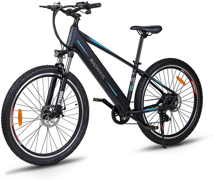 Test COMPLET du Vélo élétrique Macwheel